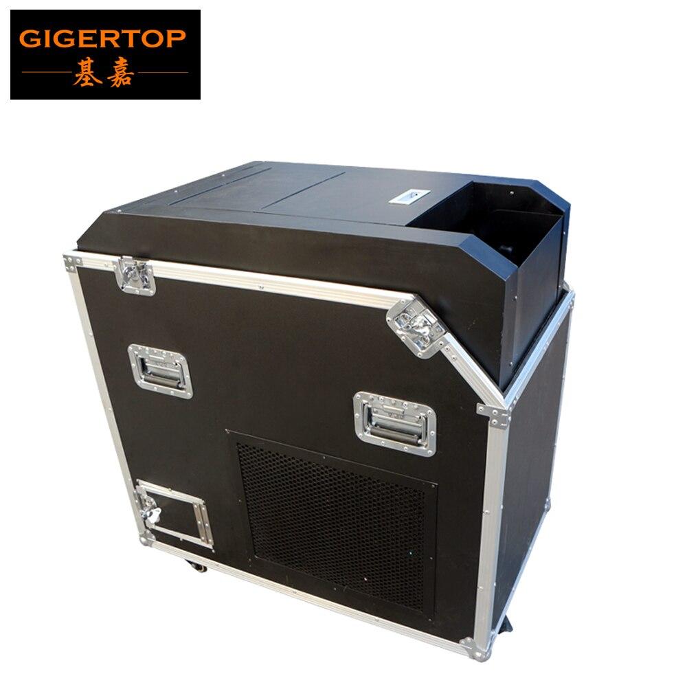 Gigertop haute puissance 2000W ventilateur confettis Blaster pas besoin d'alimentation en gaz haute vitesse soufflant vent Spray confettis papier à ciel élevé