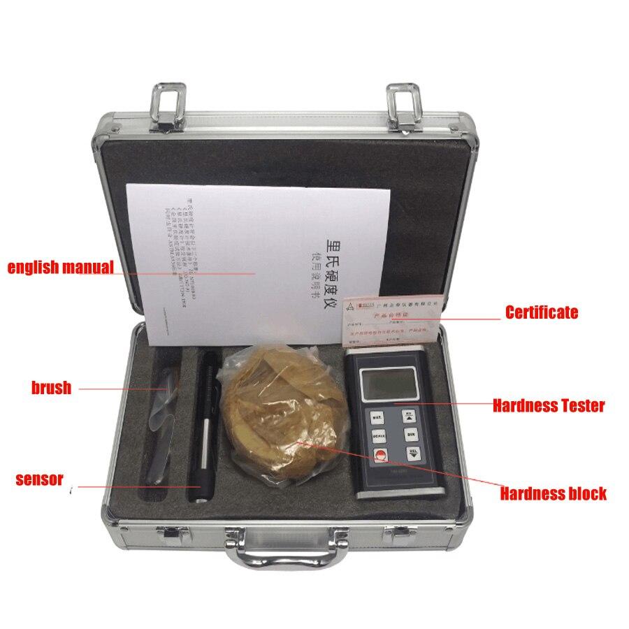 HM-6580 Numérique Testeur de Dureté Portable métal dureté testeur de Split métal testeur instrument de mesure Numérique Leeb Dureté