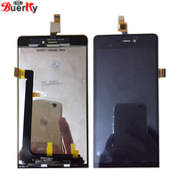 BKparts Tested Full LCD Screen For Explay Indigo LCD Display Touch Screen Glass Digitizer Complete Assembly Replacement