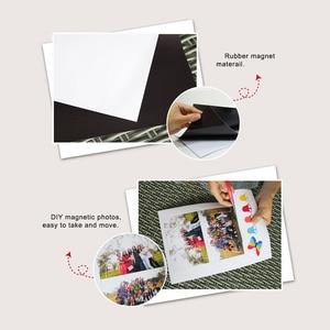 Image 2 - 5 шт./лот A4 Магнитная фотобумага печатный лист магниты на холодильник наклейка струйный магнит фотобумага матовая отделка бумага для принтера