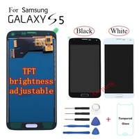 TFT LCD screen For Samsung S5 G900 SM G900F G900M Display LCD Screen replacement For Samsung S5 G900A G900T G900W8 lcd display