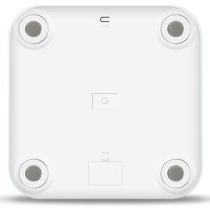 Image 2 - T6 גוף שומן סולמות רצפה מדעי אלקטרוני LED דיגיטלי משקל אמבטיה ביתי איזון Bluetooth APP אנדרואיד או IOS