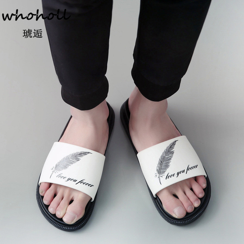 Whoholl Brand Home Slippers Women Summer Flip Flops Femmes Sandals Shoes Woman Massage Beach Slippers Zapatos Mujer Plus Size