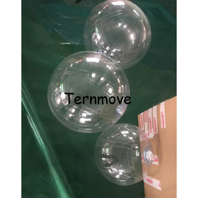clear decoration ball Christmas festival Decorations Ball Transparent pvc Clear Bubble Hanging Event Decoration free shipping