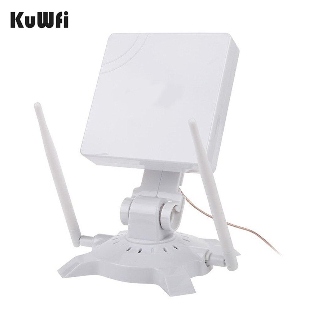 Kuwfi 150 Мбит/с высокой Мощность indoor Беспроводной USB WiFi адаптер Wi-Fi приемник Long Distance с 14dbi Телевизионные антенны Беспроводной сетевой карты