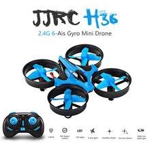 Новые JJRC H36 мини Drone 6 оси RC микро Quadcopters с Безголовый режим один ключ возвращение Вертолет Vs H8 Дрон best игрушки для детей