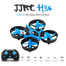 Newest JJRC H36 Mini Drone 6 Axis RC Micro Quadcopters With Headless Mode One Key Return Helicopter Vs H8 Dron Best Toys For Kid(China)