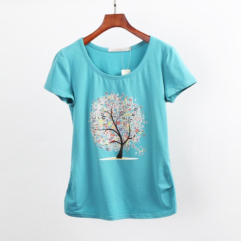 HTB1LcQmQpXXXXcDapXXq6xXFXXXH - Summer clothing short-sleeve T-shirt female casual shirts