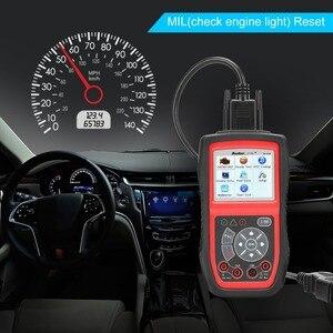 Image 3 - Autel AL539 OBDII קוד קורא OBD רכב סורק חשמל Tester אל 539 12V Autel AL539B AVO מטר סוללה בודק אבחון כלי