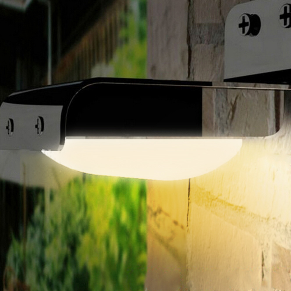 16 LED Solar Power Sensor Lamp Soundmotion Detect Garden Security