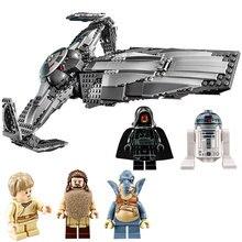 Lepin Star Wars 2017 Force Awakens Sith Infiltrator Building Blocks ABS Plastic Self-Locking Bricks Education Toys