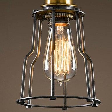 Europski stil Retro Vintage Edison stropna svjetiljka potkrovlje - Unutarnja rasvjeta - Foto 4