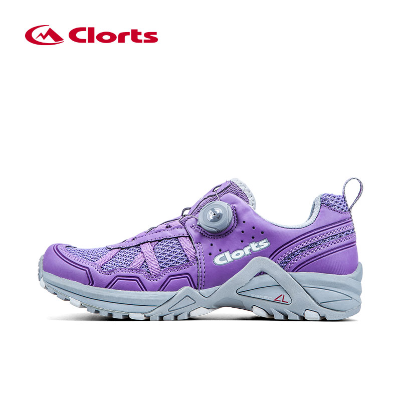 Clorts Professional Running Shoes For Women Lady Breathable Running Shoes PU Mesh Face Athletic Sneakers Walking Shoes Snealkers clorts women running shoes breathable running sneakers lady professional cushion running shoes automatic lace sneakers for girls