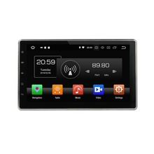 4GB RAM Car Radio font b GPS b font Navigation Octa Core 2 din 10 1