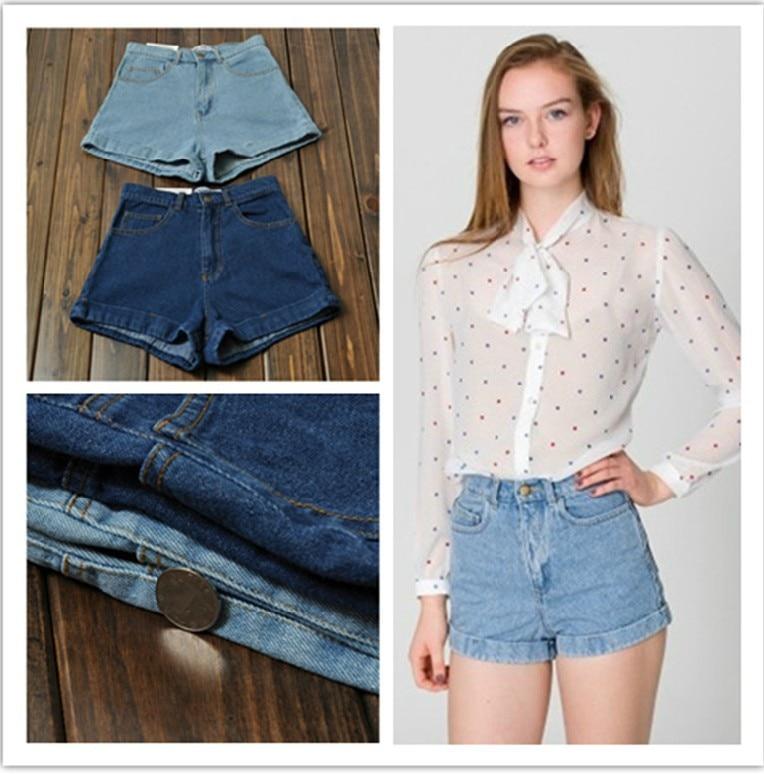 Aliexpress.com : Buy Free shipping Summer loose high waist denim ...