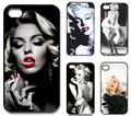 Superstar marilyn monroe para sempre beleza telefone caso capa para iphone 4 4s 5 5s 5c