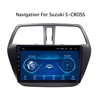 Android 9.1 Car Radio Super Slim Touch Screen GPS Navigation for Suzuki S CROSS 2014 SX4 tablet Stereo Wifi Multimedia Bluetooth