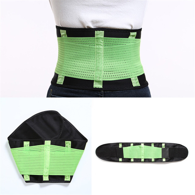 Slimming Belts Sweat Band Waist Trainer Corsets Body Shaper Girdles Men Women Waist Support Belly Trimmer Fajas Reductoras 5