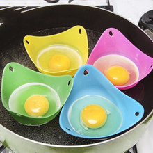 10Pcs/Lot Silicone Egg Poacher Poaching Pods Mold Bowl Rings Cooker Boiler Cuit Oeuf Dur Kitchen Cooking Tools Pancake Maker