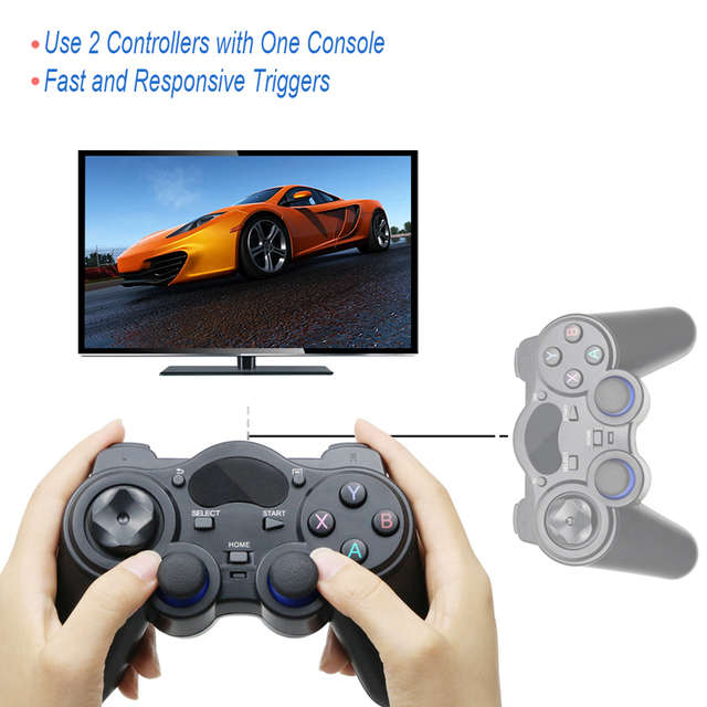2.4 G Controller Gamepad Android Wireless Joystick Joypad with OTG Converter For PS3/Smart Phone For Tablet PC Smart TV Box 5
