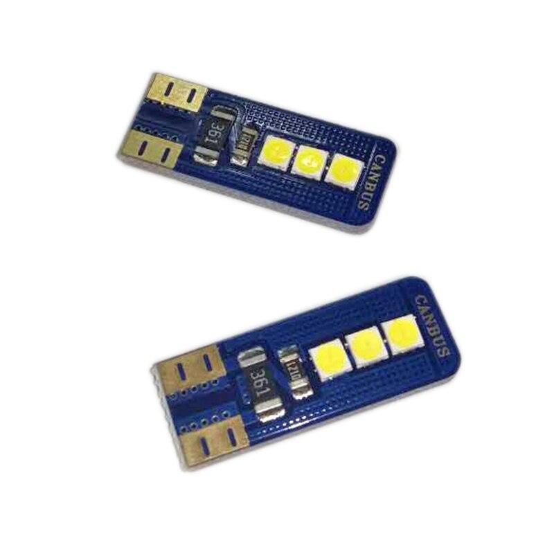 2 шт. очень яркий 3030 Чипсет LED Canbus Ошибок Лампы для салона Купол боковой хвост лампа T10 168 194 2825