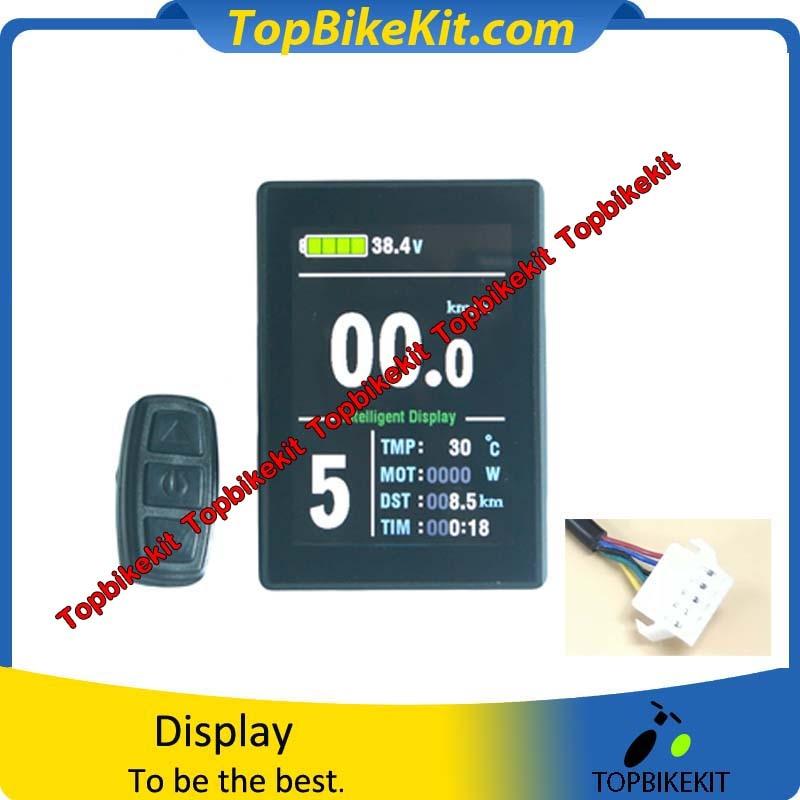 KT LCD8S Display meter 24V 36V 48V KT LCD8S Color matrix Display Meter Control Panel for
