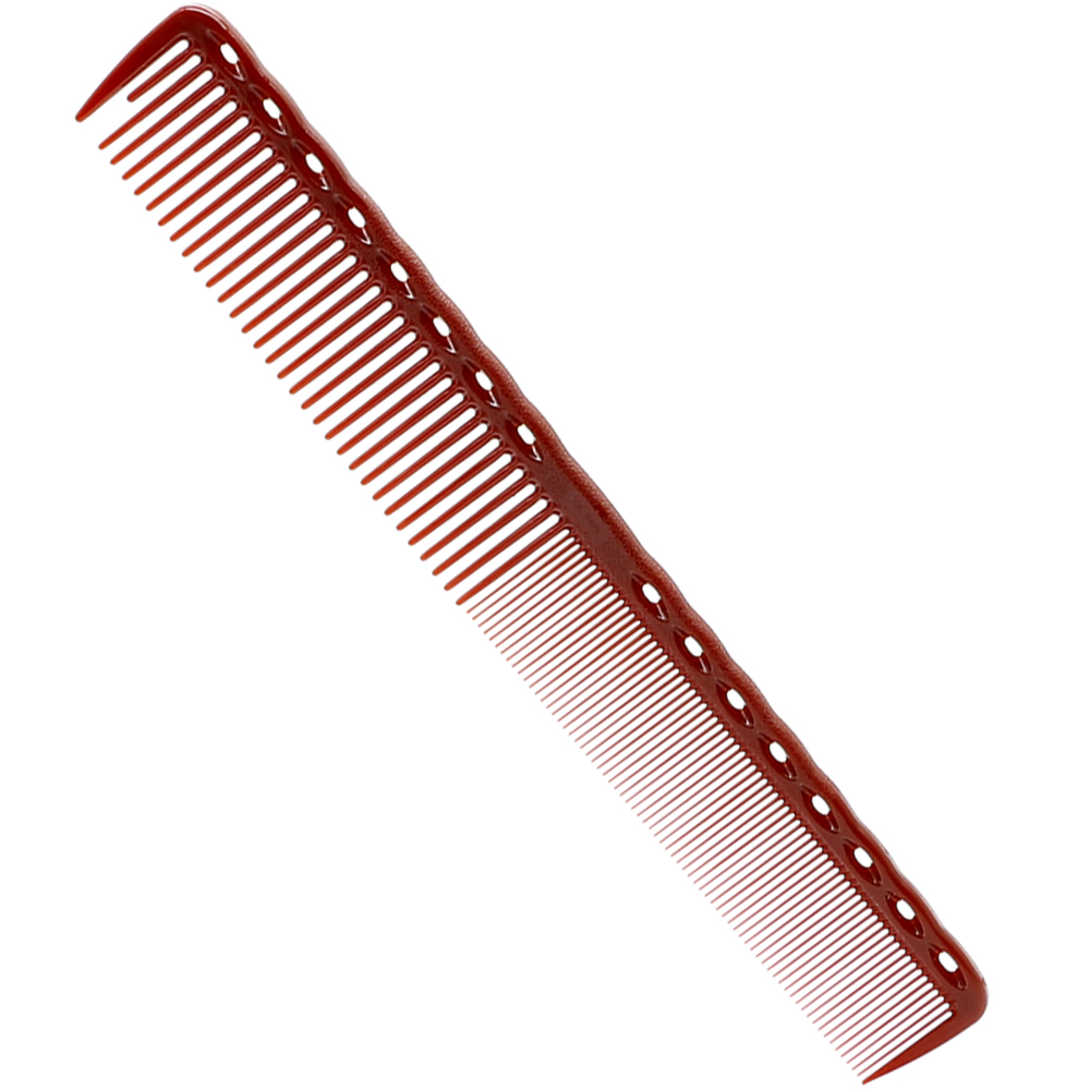 Купить с кэшбэком Professional 1PC Mythus Durable Hairdresser Comb For Haircut 19 CM Hair Barber Comb In Resin Material Short Haircutting Comb