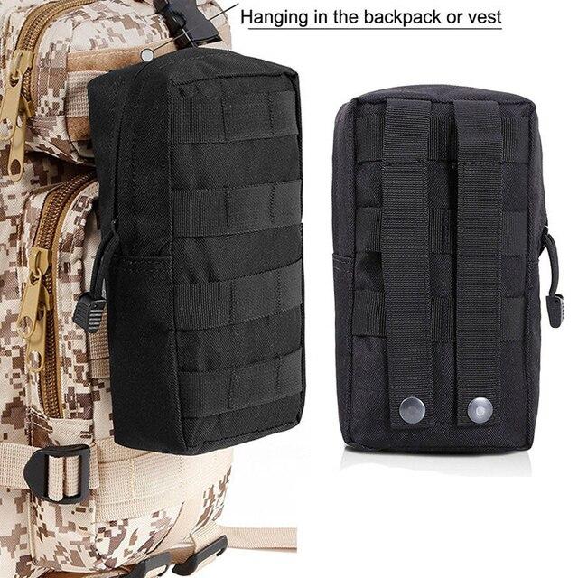 Sports Military MOLLE Pouch Vest Bag 5