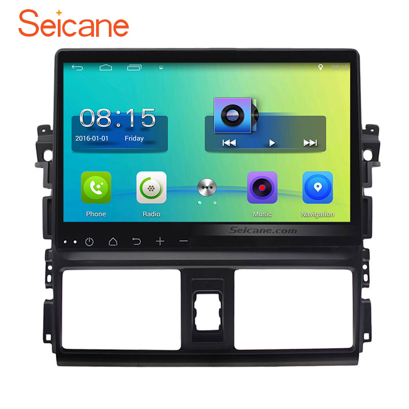 Android 6 0 Hd Touch Screen Gps Navigation Car Radio For
