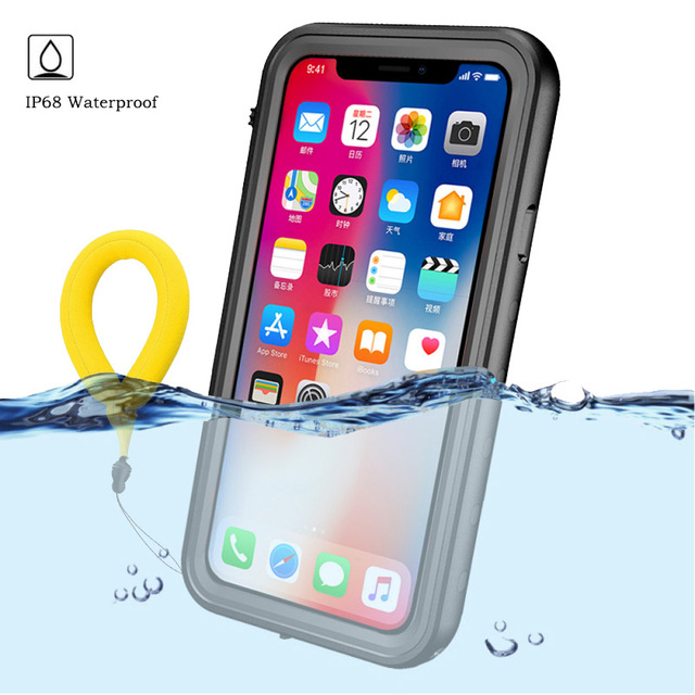 quality design eafcd 3c069 US $11.99 40% OFF|Aliexpress.com : Buy 360 Protect for Apple iPhone XS Max  Case Water Proof Clear Back Front Cover for Etui iPhonex Coque iPhone XR X  ...
