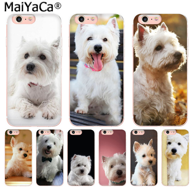 869d0518 MaiYaCa Westie Terrier Dog Puppy Highland Terrier Personalized Phone case  for Apple iPhone 8 7 6