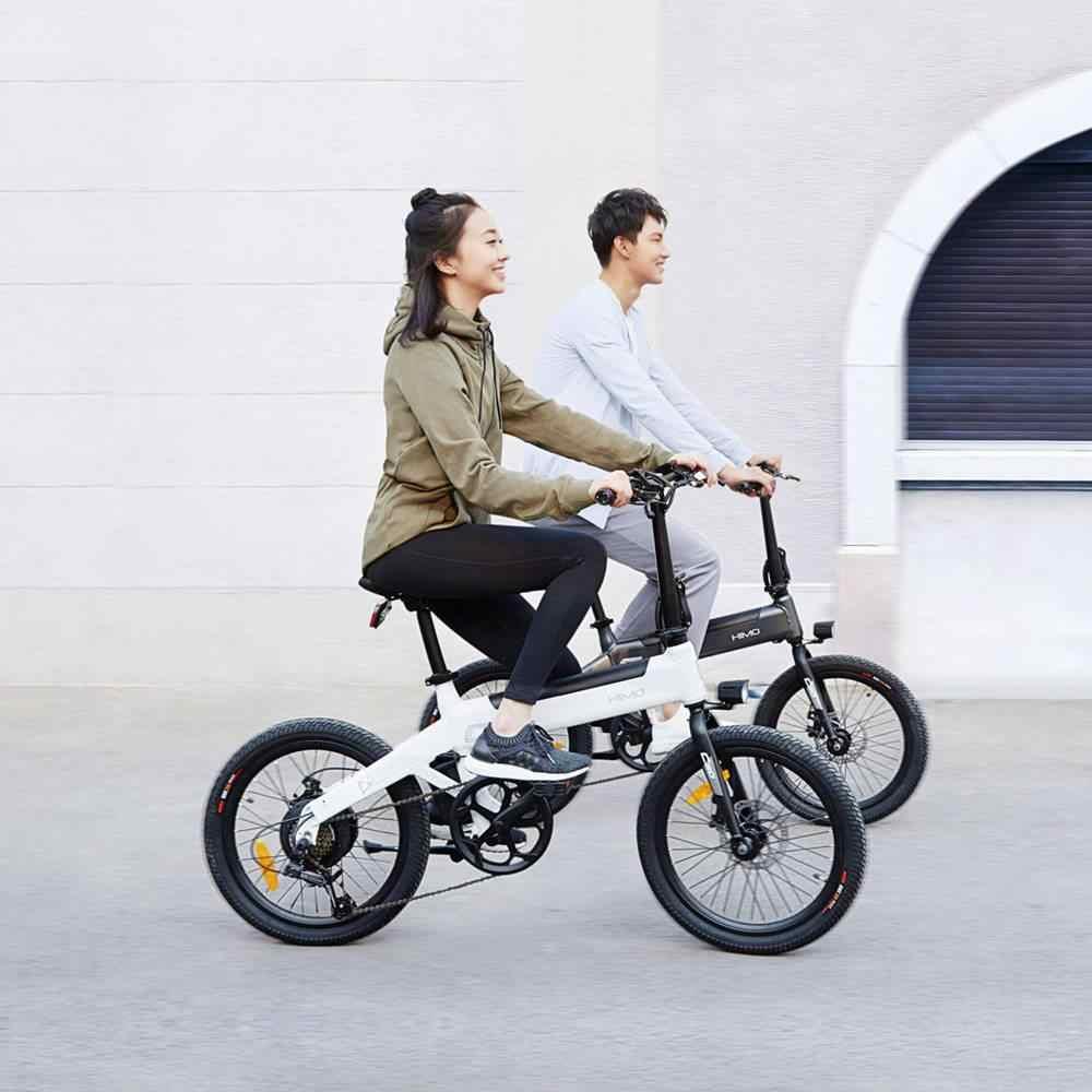 Nuovo Xiaomi Himo C20 Bicicletta Elettrica 250 W Motore Ebike 25 Kmh E Bike 80 Km Di Distanza In Miglia Allaperto Bici Elettrica 20 Pollici