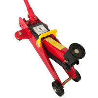 JACK DOMKRAT Hydraulic Podkatnoy 2T The Height Of Lifting 140 340MM In The Case Knives High