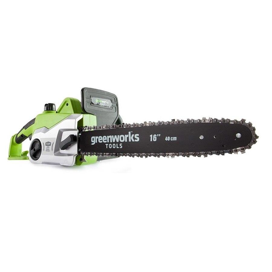 Electric chain saw Greenworks GCS1840 пила greenworks gcs1840 20027