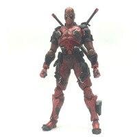 Deadpool 2 Figure Wolverine X Men X MEN Play Arts Kai Deadpool Wade Winston Wilson Play Art KAI PVC Action Figure 26cm Doll Toy