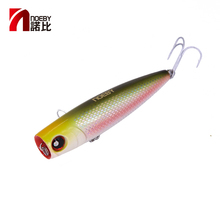 цены NOEBY Fishing Lures NBL9140 Popper Lure 105mm 24g PVC Hard Baits VMC Hooks Sea Fishing Wobblers Tackle Pesca Carp
