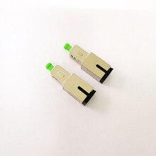 شحن مجاني 2 قطعة/الوحدة SC UPC SC APC محول الألياف البصرية
