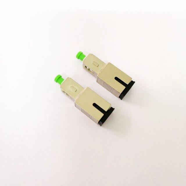 Adaptador de fibra óptica SC UPC SC APC, 2 unids/lote, Envío Gratis