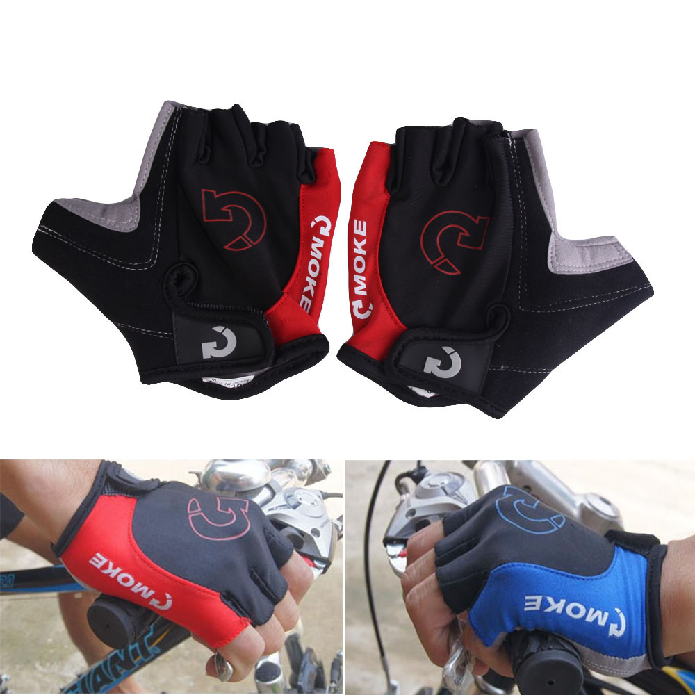 Guantes de ciclismo, medio dedo, deportes de verano, gel antideslizante, guantes de bicicleta para hombres, mujeres, ciclismo, guantes de bicicleta, guantes, ciclismo