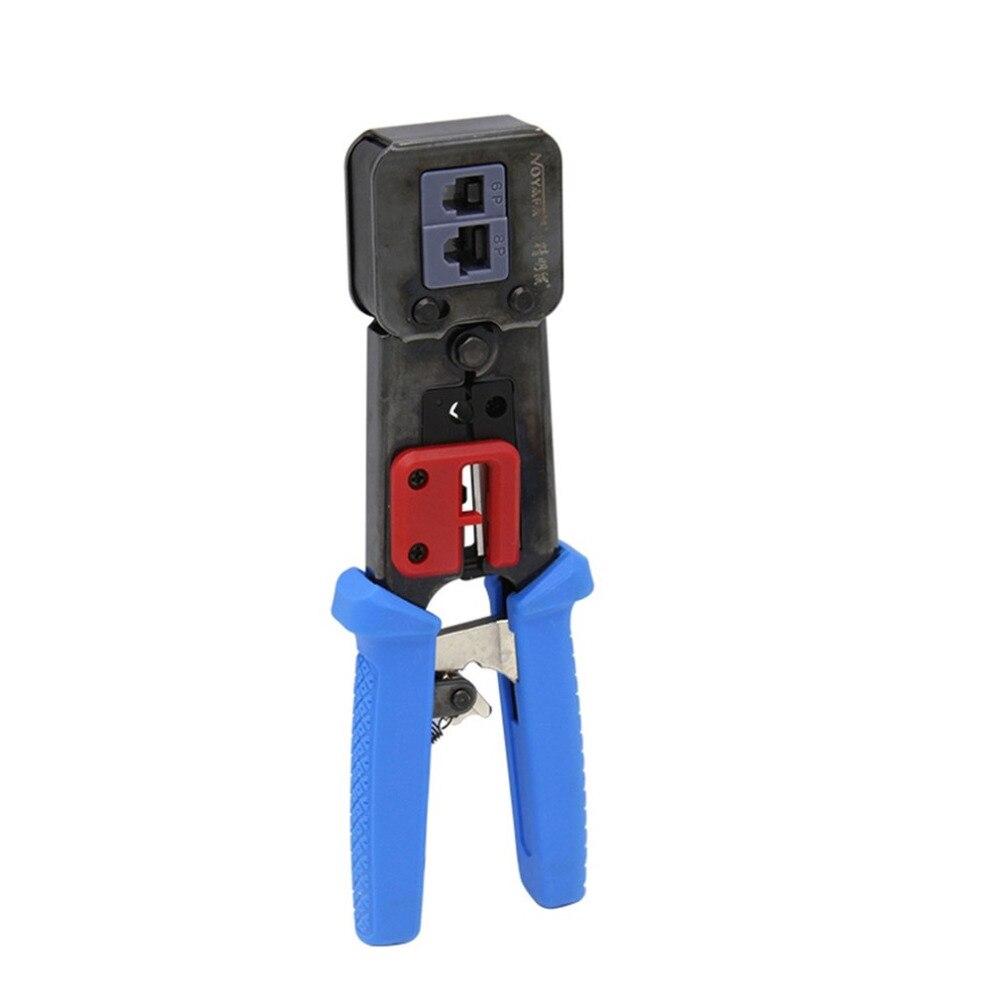 Réseau outils EZ RJ45 sertisseur RJ12 cat5 cat6 Câble Décapant appuyant sur pince pinces pinces clip clipper kit multifonction NF-5004