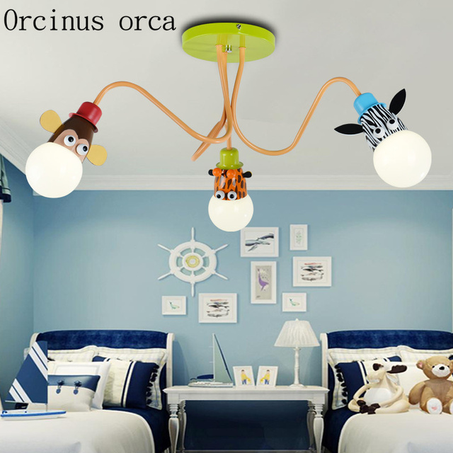 Kreative Cartoon Kinderzimmer Schlafzimmer Deckenleuchte Junge Mädchen  Kinderzimmer Lampe Augenpflege Kindergarten Lampe Portofrei