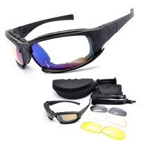 Daisy X7 Desert Tactical Goggles Outdoor Riding Cycling Eye Protection Eyewear Airsoft UV400 Glasses