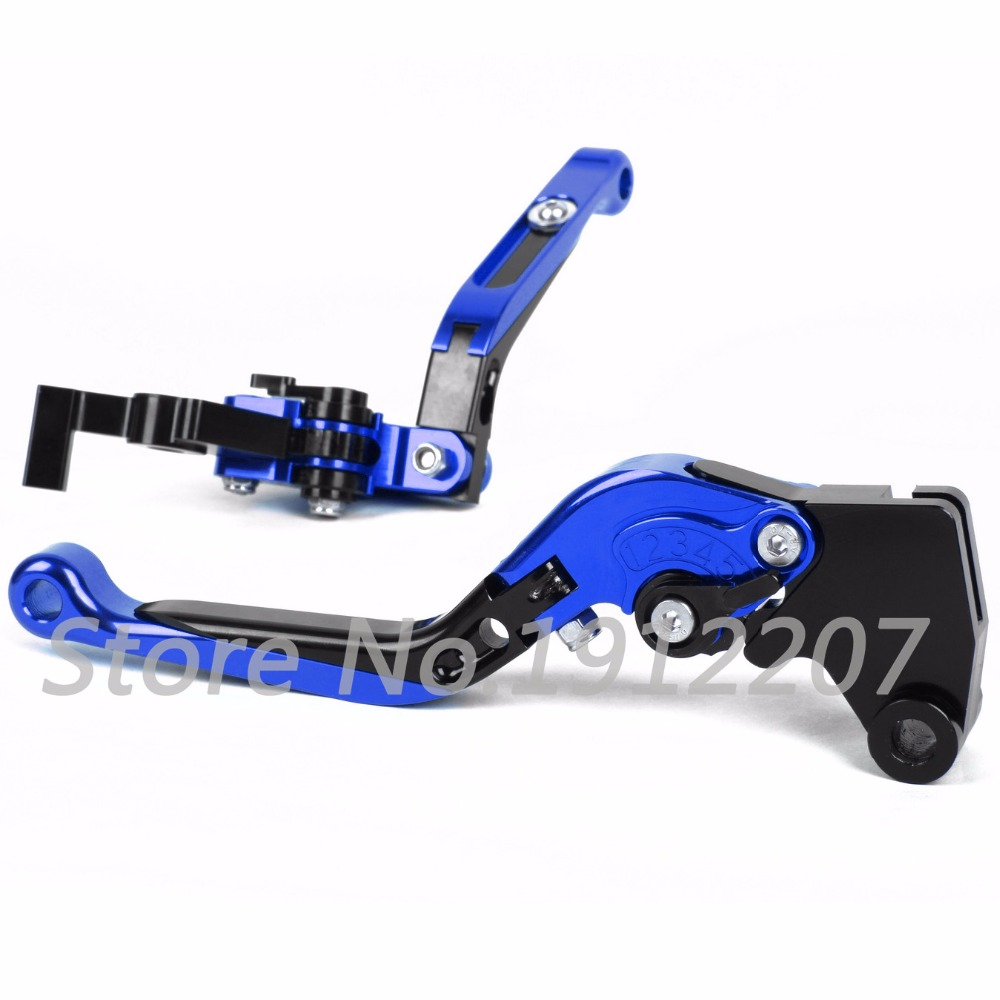 ФОТО For Triumph SPEED TRIPLE R 2016 Foldable Extendable Brake Clutch Levers Motorcycle Accessories CNC Folding&Extending Levers New