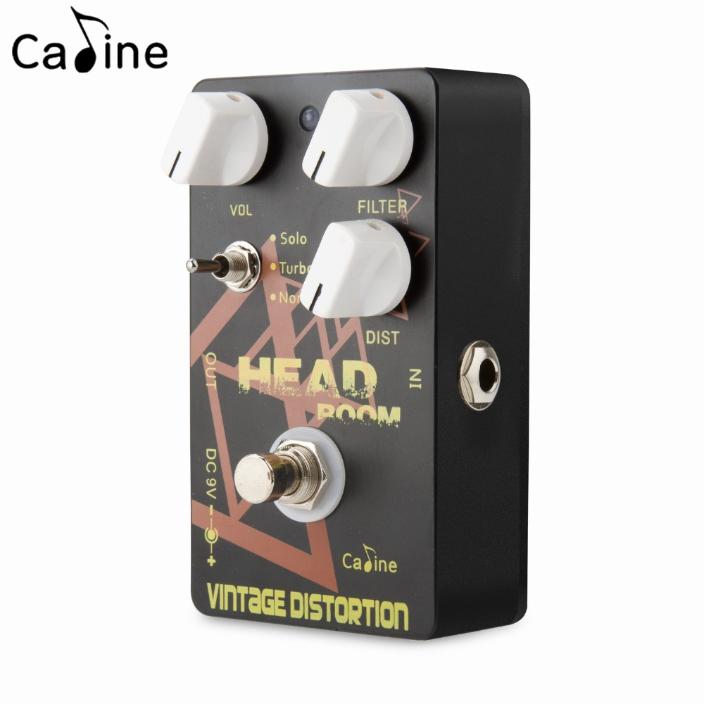 Caline PEDAL Aluminum Alloy CP-34 Vintage Distortion Guitar Effects Pedals True Bypass Distortion Control 1pc 110v 220v ps 60al 360w ultrasonic cleaner 15l cleaning equipment stainless steel cleaning machine