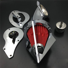 цена на For 1999&up Honda Shadow 600 VLX 600 Motorcycle Air Cleaner Kit Intake Filter 1999 2000 2001 2002 2003 2004-Later