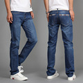 New Men's Jeans Men Pants Lightweight Popular Fashion Jeans Men Straight 2colors hombre pantalones