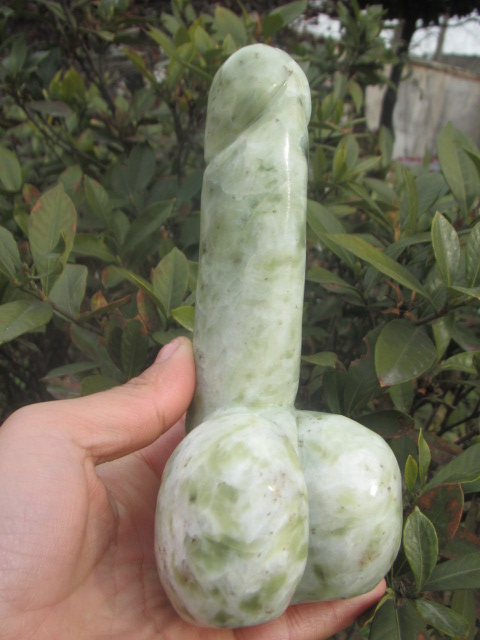 Natural Quartz Crystal, Xiu Jade, Powerful Dick/the Penis Worship