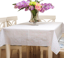 YO HOOM Kitchen PVC Tablecloth Tablecover Coffee Table Cloth Table Cover Simple Color Optional цена