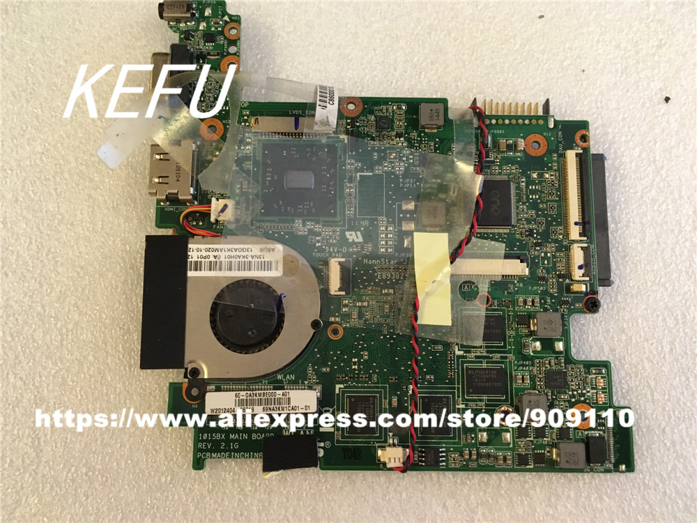 KEFU For Asus Eee PC 1015BX motherboard REV 2.1G fully tested Without heatsink