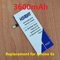 Frete grátis 3600 mah bateria de substituição para apple iphone 6 s iphone6s 4.7 ''4. 7 polegada